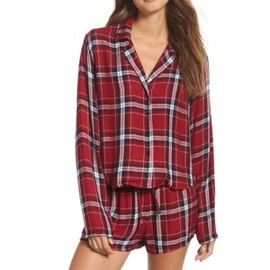 Rails Intimates & Sleepwear - Rails Long Sleeves Short Set